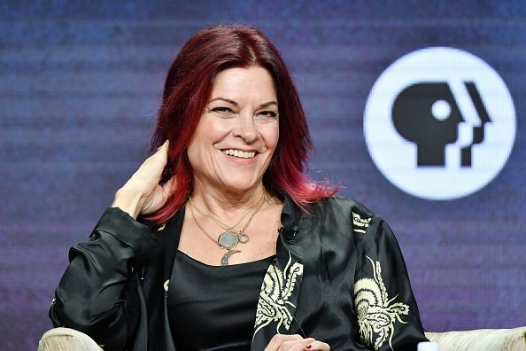 "Rosanne Cash of ""Country Music A Film By Ken Burns"" speaks during the PBS segment of the Summer 2019 Television Critics Association Press Tour 2019 at The Beverly Hilton Hotel 