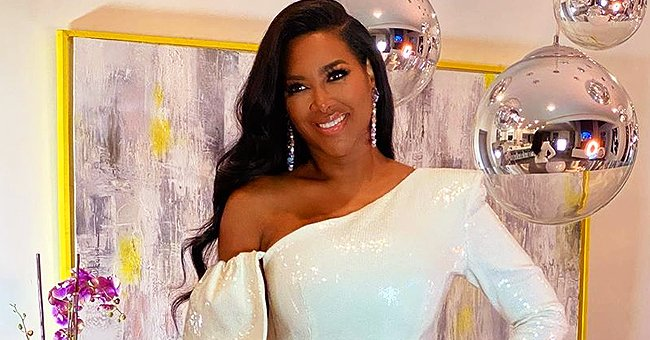 Kenya Moore's Daughter Brooklyn Laughs and Runs Away from Mom in a Cute Video