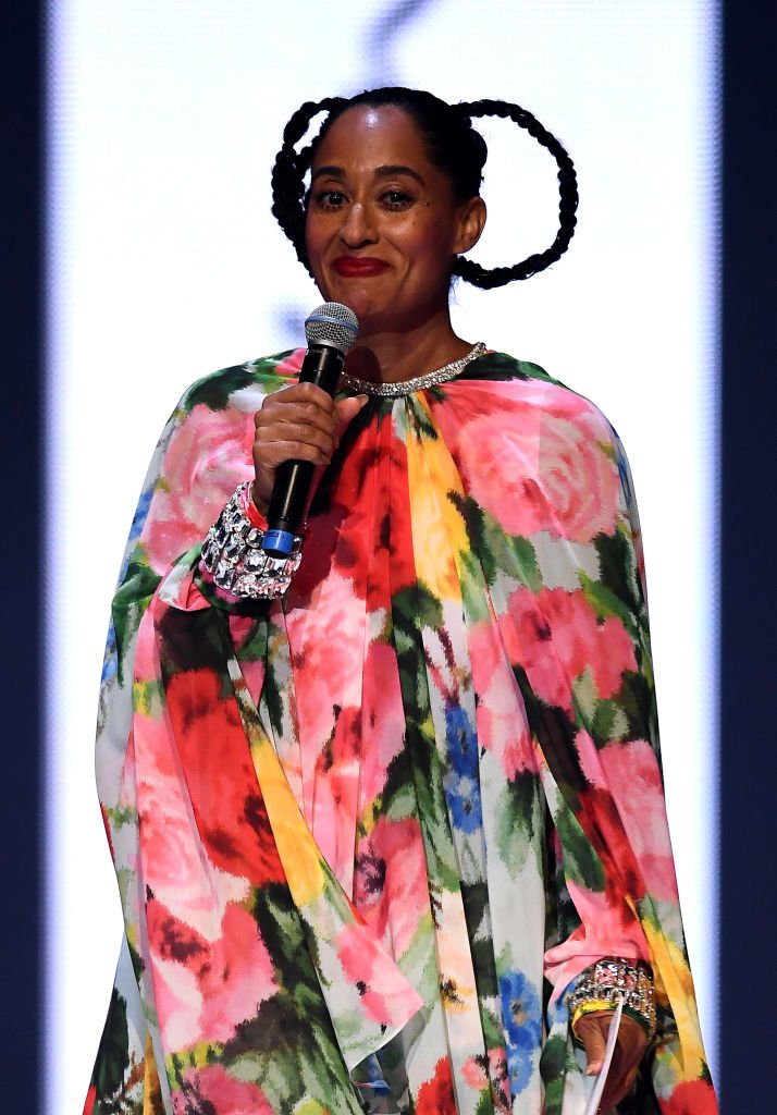 Tracee Ellis Ross on stage during The Fashion Awards 2019 held at Royal Albert Hall | Photo: Getty Images