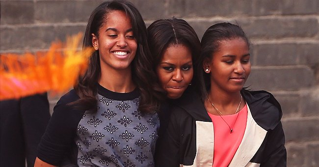 Michelle Obama Reportedly Recalls Emotional Moment When Youngest Daughter Sasha Was Dropped off at College