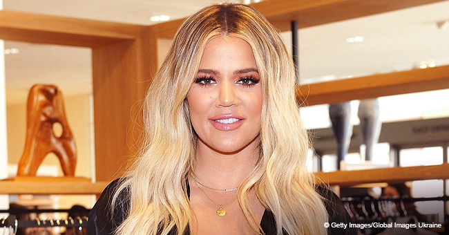 Khloé K. and Daughter True Flash Big Smiles in Mother's Day Selfie