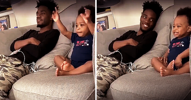 Watch Comic Dad Have Animated Chat with His Toddler While Watching 'Empire' Finale