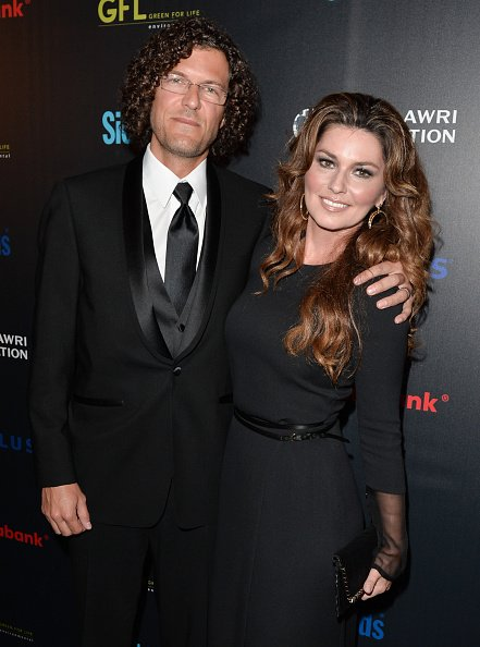Frederic Thiebaud and Shania Twain at Fort York on September 20, 2014 in Toronto, Canada. | Photo: Getty Images