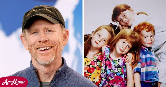 Image of Ron Howard and his siblings | Photo: instagram.com/paigecarlylehoward Getty Images