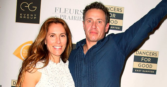 Chris Cuomo's Wife Christina Defies Age in Adorable New Pictures with Their Dogs