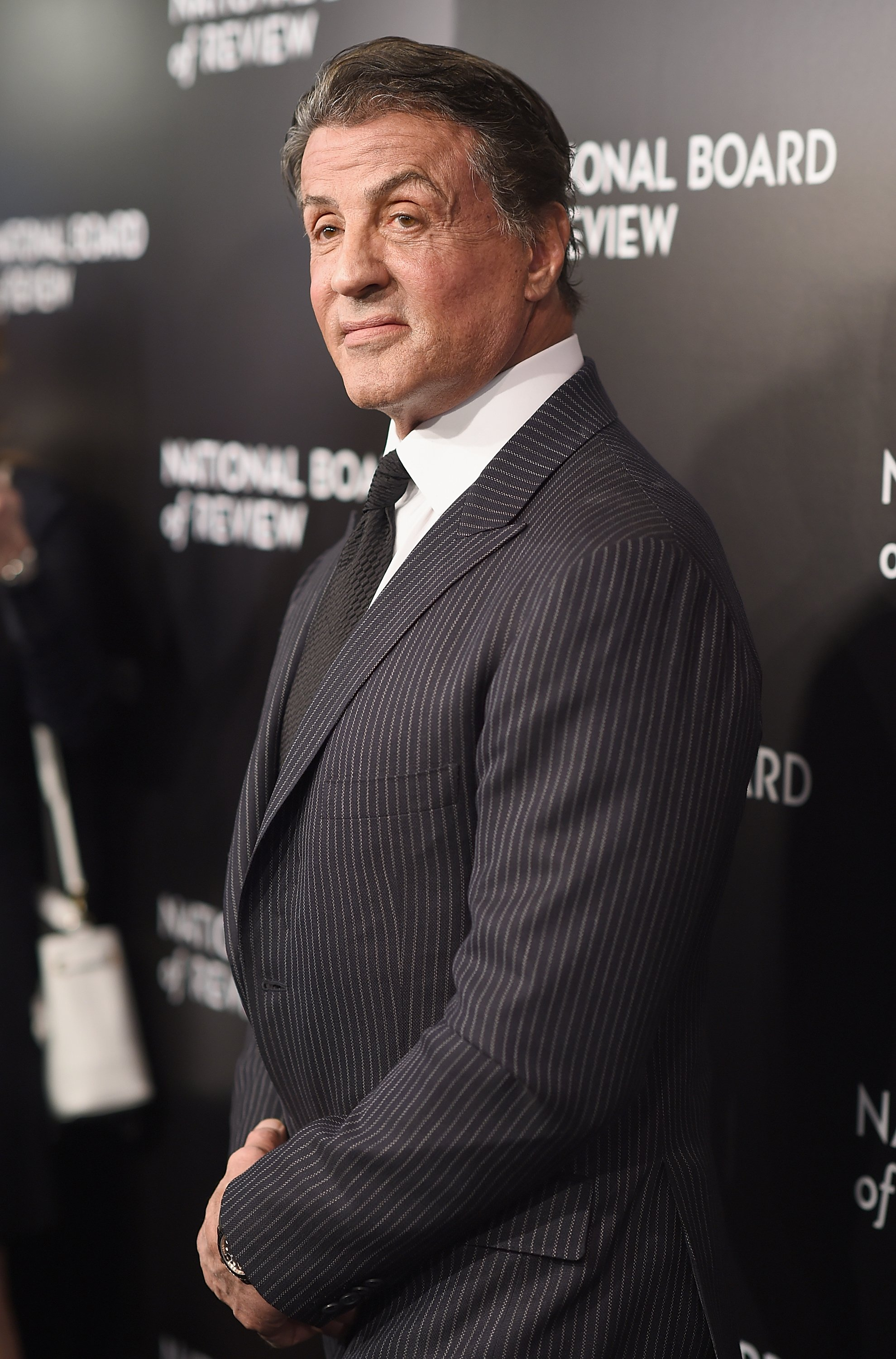 Sylvester Stallone attends the 2015 National Board of Review Gala at Cipriani 42nd Street on January 5, 201,6 in New York City. | Source: Getty Images.