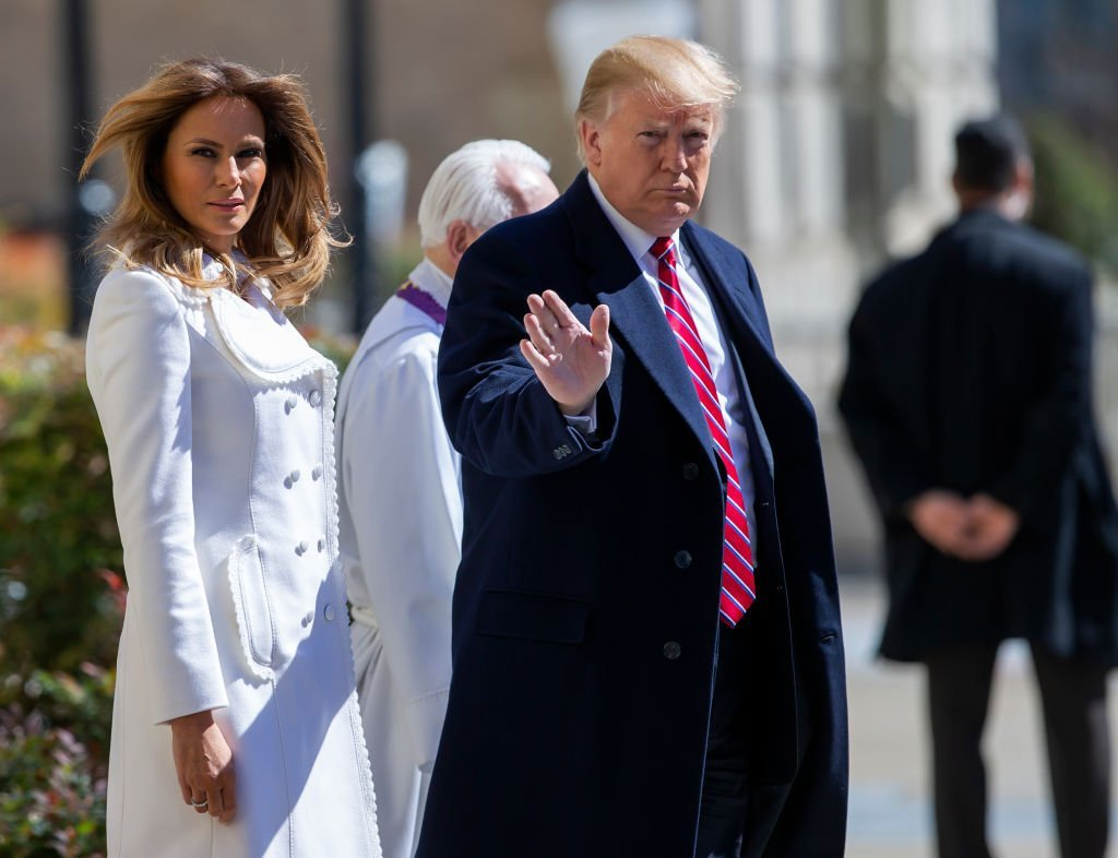 President Donald Trump and his wife Melania Trump | Photo: Getty Images