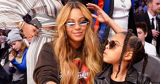 Beyoncé Wears Hoodie While Shopping with Blue Ivy Who Looks so Grown up with Her Long Braids