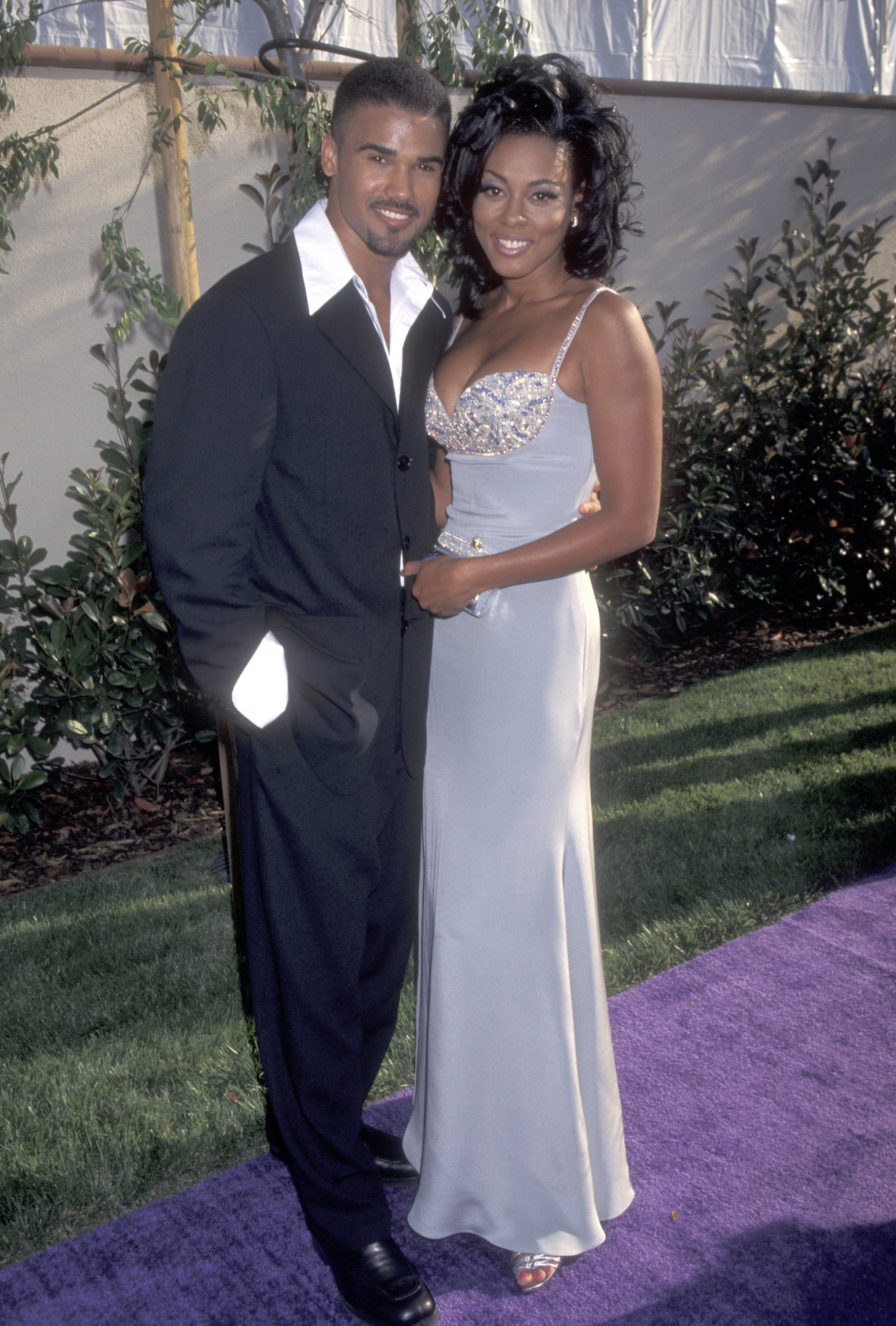 Shemar Moore and Actress Lela Rochon attend the Fifth Annual MTV Movie Awards on June 8, 1996, in Burbank, California. | Source: Getty Images.