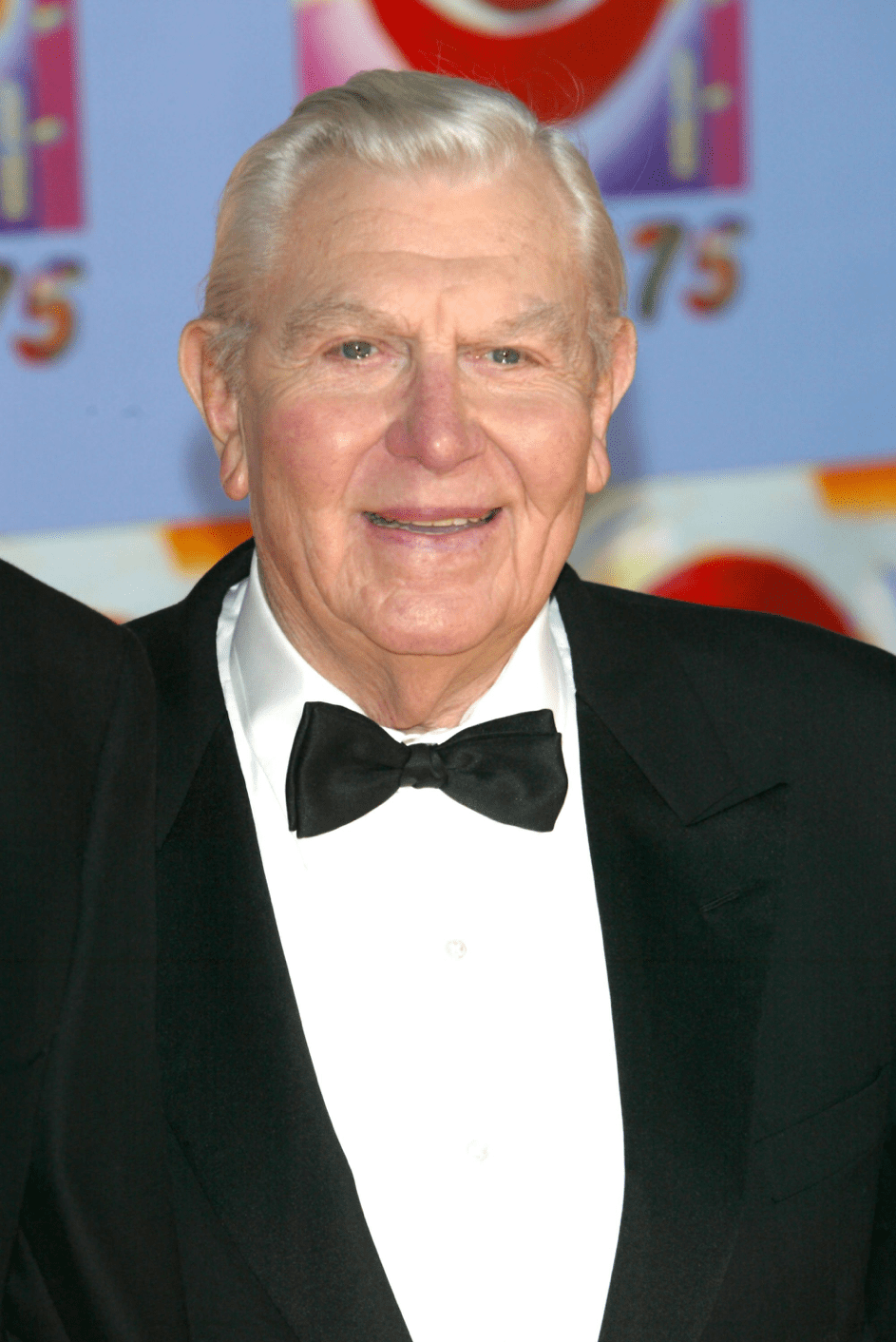 Schauspieler Andy Griffith am 2.11.2003 in New York. | Quelle: Getty Images