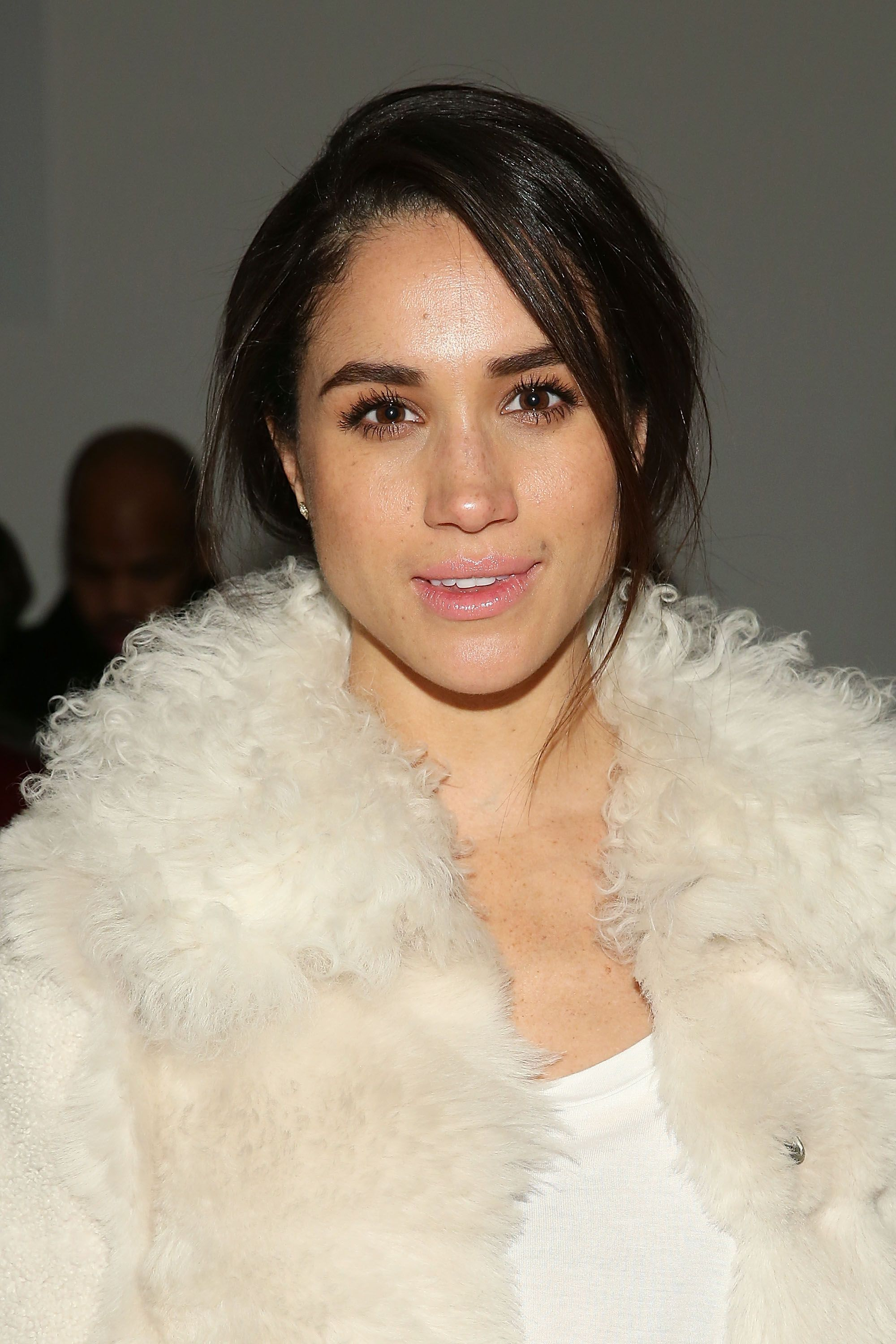 Meghan Markle during the Wes Gordon runway show during MADE Fashion Week Fall 2015 at Milk Studios on February 13, 2015 in New York City.   Source: Getty Images