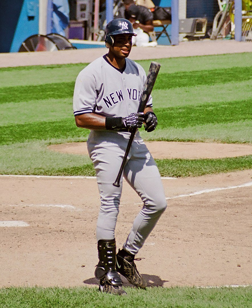 Bernie Williams at New Comiskey Park, 1999 | Photo: Wikimedia Commons Images