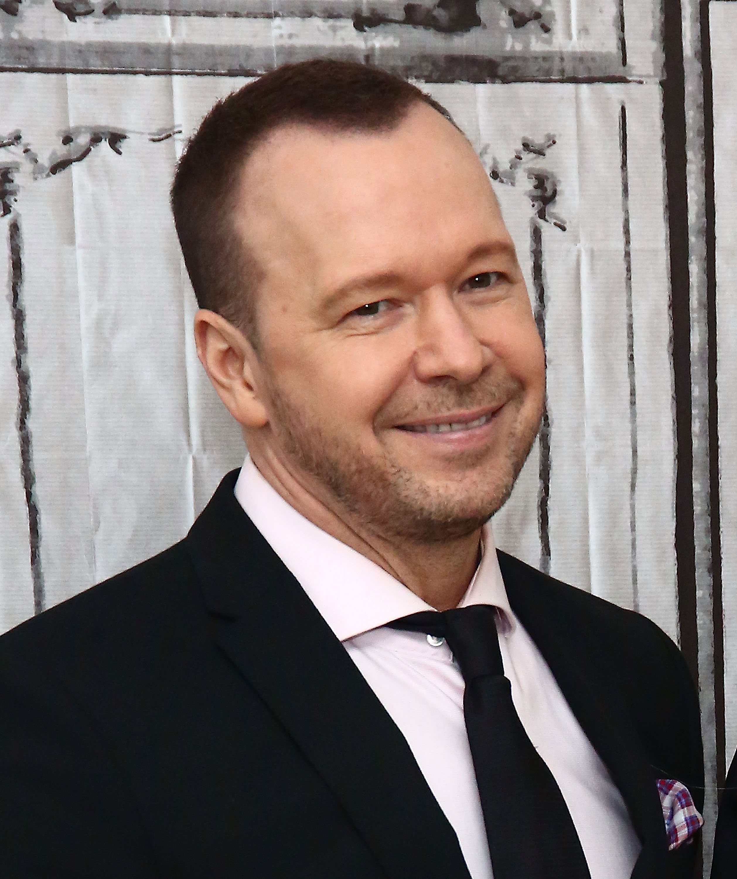 """Donnie Wahlberg attends AOL Build Presents """"Donnie Loves Jenny"""" on March 16, 2016, in New York City.   Source: Getty Images."""