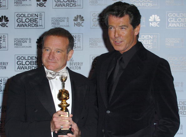 Pierce Brosnan and Robin Williams / Photo: Getty Images