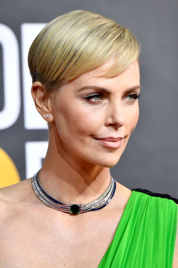 Charlize Théron aux Golden Globe, 2020 | source : Getty Images