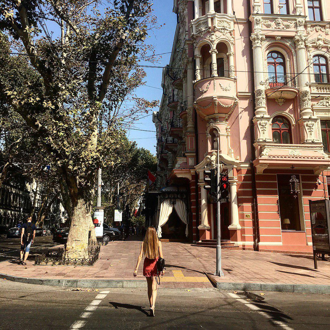 Anna Krys, Head of Diversity & Inclusion Practice at CFC Big Ideas, in Odessa, Ukraine, her hometown | Photo: Courtesy of Anna Krys