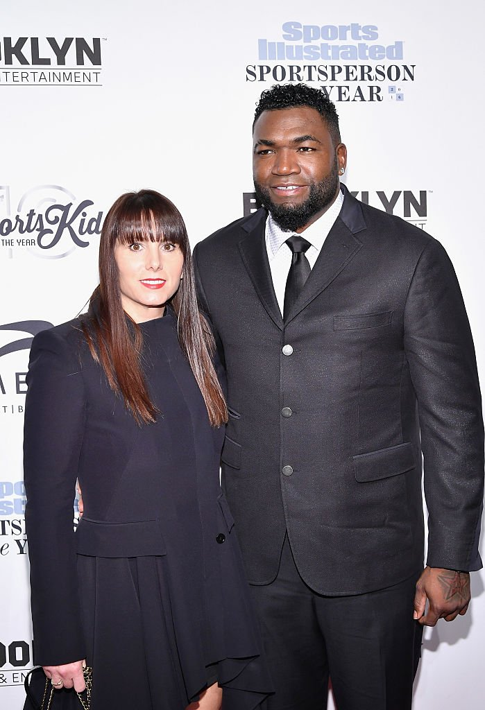 David Ortiz & his wife, Tiffany, at the Sports Illustrated Sportsperson of the Year Ceremony on Dec. 12, 2016 in New York City.   Photo: Getty Images
