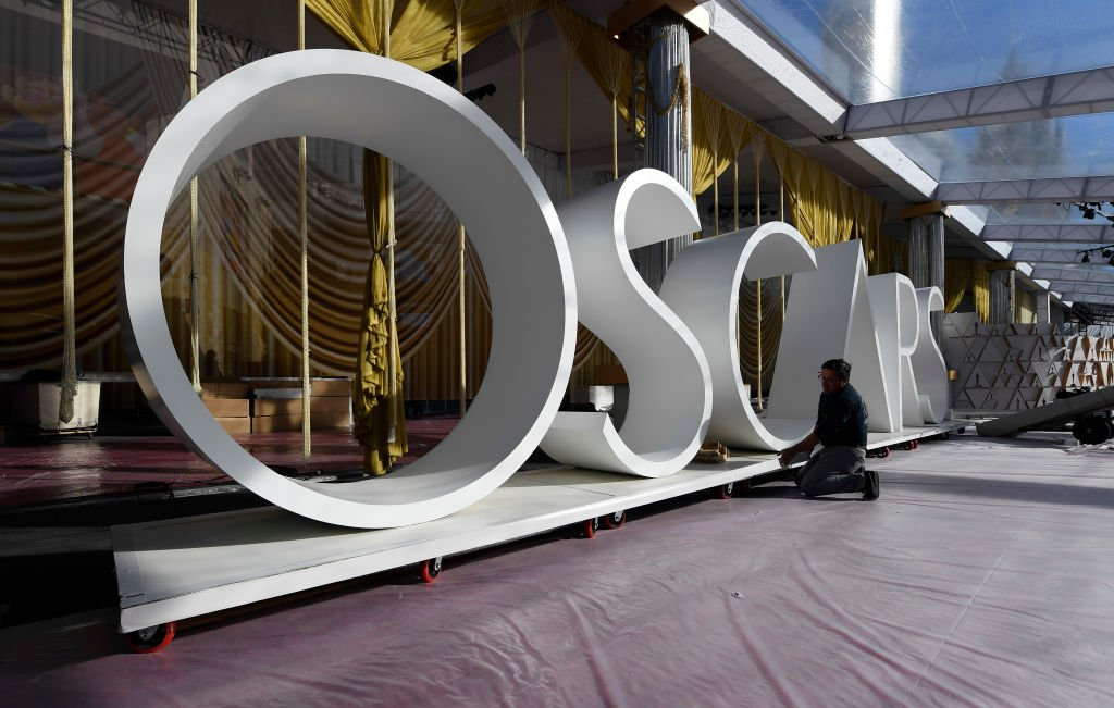 The red carpet area in preparation for the 92nd Annual Academy Awards on February 6, 2020. | Photo: Getty Images