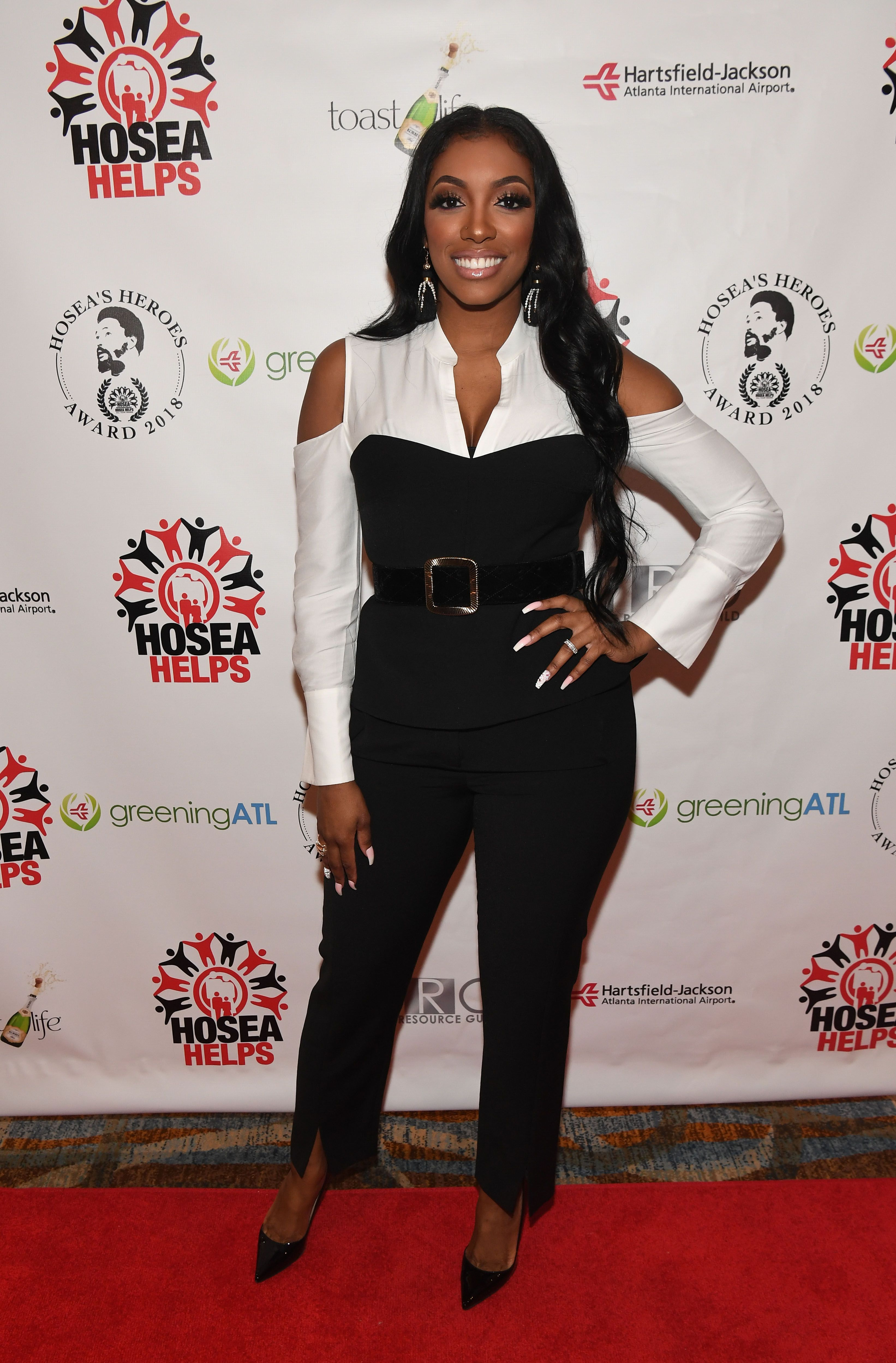 Porsha Williams at Hosea's Heroes Awards at Loudermilk Conference Center on February 25, 2018 | Photo: Getty Images