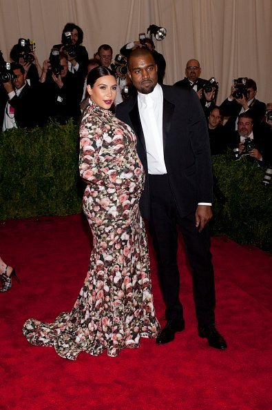 Kanye West and Kim Kardashian attend the Costume Institute Gala for the 'PUNK | Photo: Getty Images