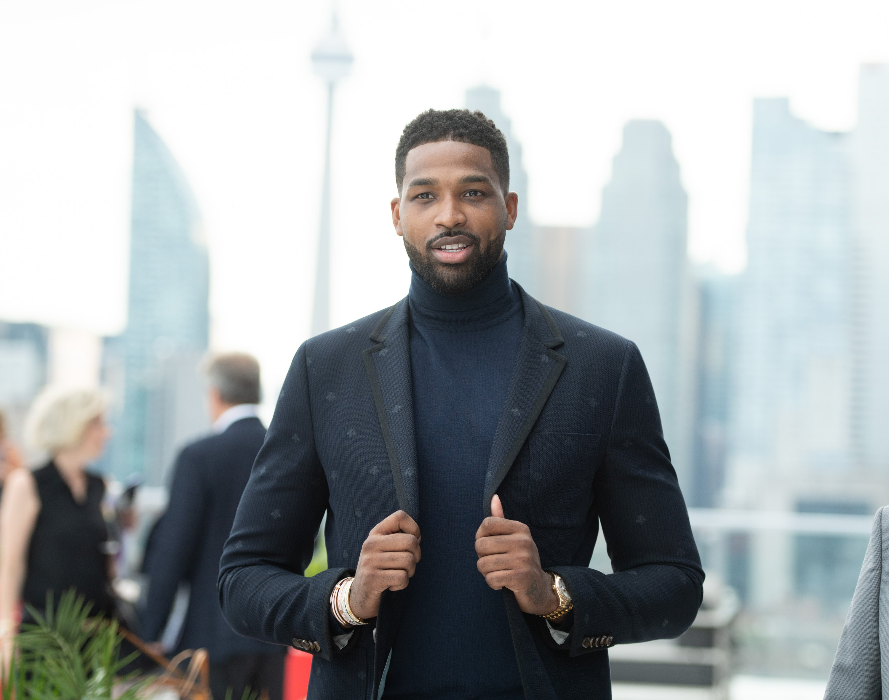 Tristan Thompson at The Amari Thompson Soiree at The Globe and Mail Centre on August 9, 2018. | Photo: Getty Images