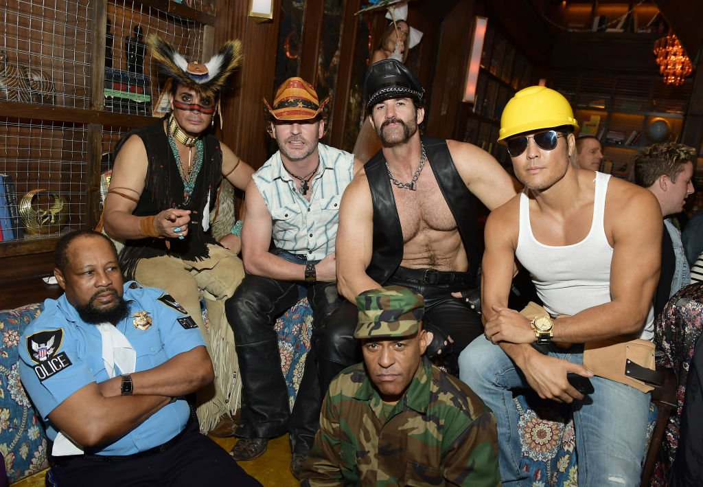 Village People at go90 + Streamys After Party at Poppy on September 26, 2017 in Los Angeles, California | Photo: Getty Images